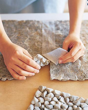 How to make a DIY stone bathmat.